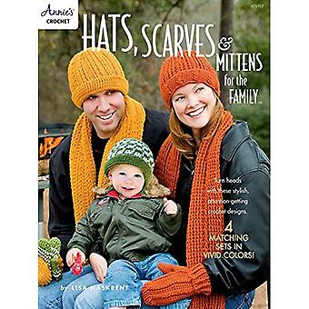 Hats, Scarves & Mittens for the Family: 4 Matching� Sets in Vivid Colors!
