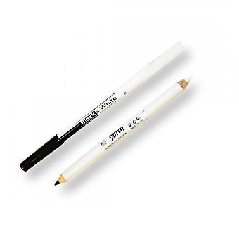 Saffron Black And White Eyeliner Pencil