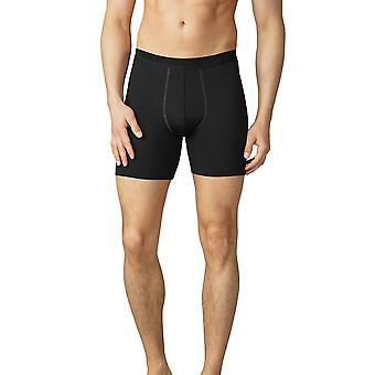 Mey 42424-123 Hommes-apos;s Mey Performance Black Fitted Boxer