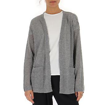 Barena Venezia Crd19681163540 Women's Grey Cotton Cardigan