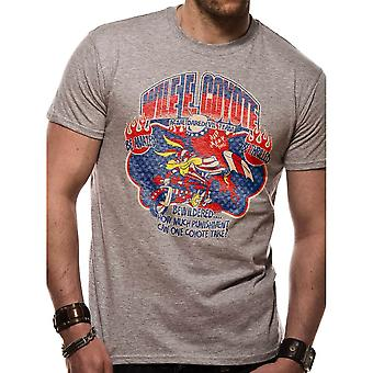 Mænds Looney melodier Wile E Coyote ACME Daredevil T-shirt