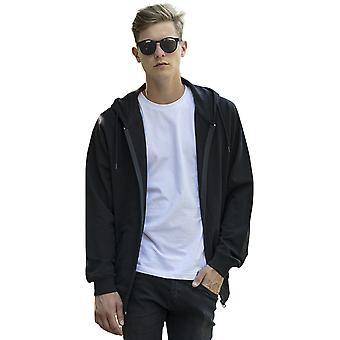 Cotton Addict Mens Terry Cotton Zip Up Hoodie Jacket