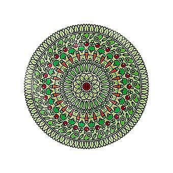 Grindstore Veggie Spiral Glass Chopping Board