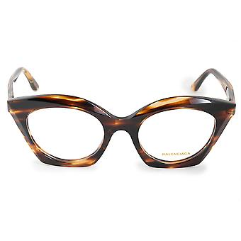 Balenciaga BA 5077 050 50 Oval Cat Eye Eyeglasses Frames