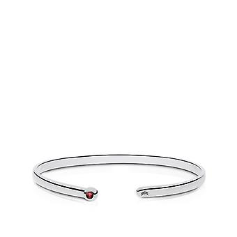 Ohio State University indgraveret Sterling Silver Ruby Cuff armbånd