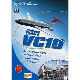 Vickers VC10 Add-On for FS 20022004 (PC CD) - New