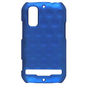 Sprint Dimples Click Case for Motorola Photon 4G MB855, MB853 - Electric Blue