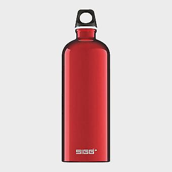 New Sigg Traveller Hydration Water Bottle 1 Litre Red