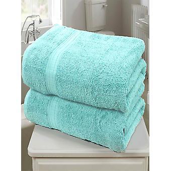 Royal Kensington 2 stuk handdoek Bale Aqua