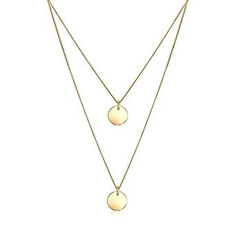 Elli Necklace with Women's Pendant in Yellow Silver 925 - Gold