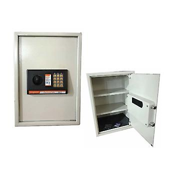 Solid Steel Secure Large Electronic Digital Safe With 3 Shelves Home Office Security