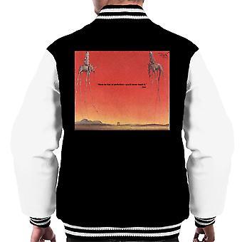 A. P. O. H Salvador Dali frygt for perfektion citat mænd ' s varsity jakke