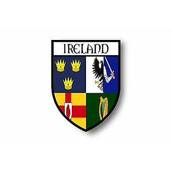 Sticker Sticker Motorcycle Car Blason City Flag Ireland Irish Province