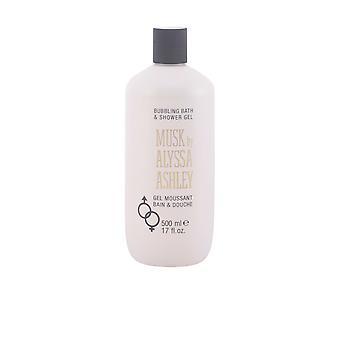 Alyssa Ashley Musk borbulhando banho & chuveiro Gel 500 Ml unissex