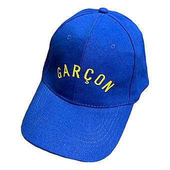 Les Garcons Faciles basebal Cap blauw