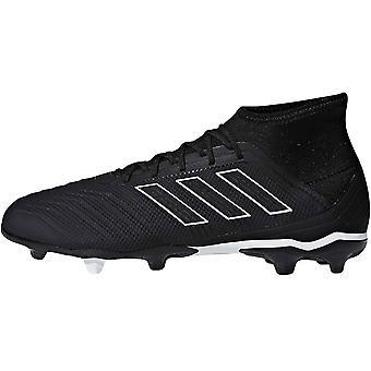adidas Performance Mens Predator 18.2 Firm Ground Football Boots - Black -