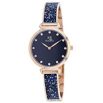 Roberto Bianci Femmes apos;s Brillare Blue Dial Watch - RB0206
