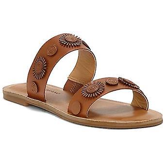 Marca suerte mujer Adalyn Open Toe Slide Casual sandalias