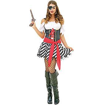 Perilous Pirate Adult Costume, M