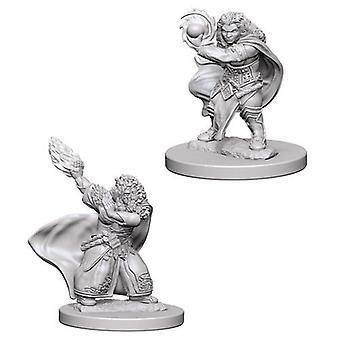 D&D Nolzur's Marvelous Unpainted Miniatures Dwarf Female Wizard (Pack of 6)