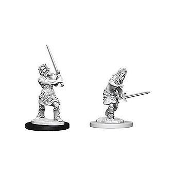 Pathfinder Battles Deep Cuts Unpainted Miniatures Male Human Barbarian (6 Packs)