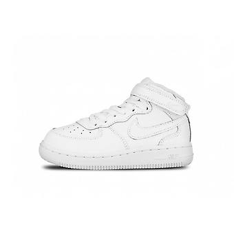 Nike Air Force 1 MID wit mode basketbal
