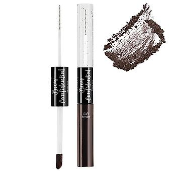 Ardell Beauty Brow Confidential Double Ended Eyebrow Applicator - Dark Brown