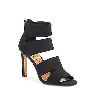Jessica Simpson Womens Cerina Tissu Open Toe Casual Ankle Strap Sandales