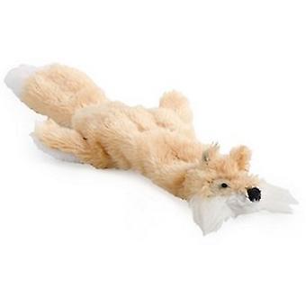 Ancol Pequeño Mordida Mini Floppet Fox Juguete para Perro