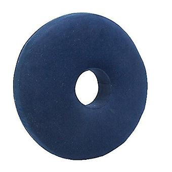 Active Living Memory Foam Round Cushion with Cover Blue