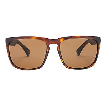 Electric California Knoxville XL Sunglasses - Matte Tortoise Shell/Polarized Bronze