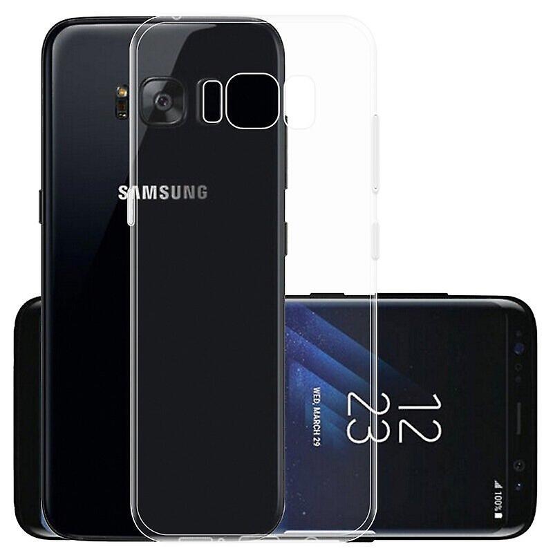 iCoverCase | Samsung Galaxy S8 |  Transparent TPU Skal