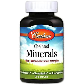 Carlson Labs Chelated Minerals 90 Softgel