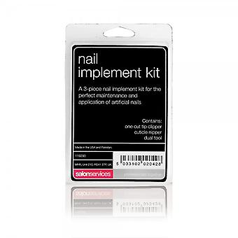 Salon Services Nail Implement Kit