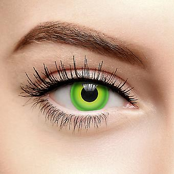 Green Hulk Colored Contact Lenses (Daily)