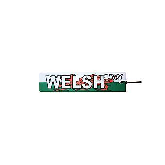 Welsh Way Street Sign Car Air Freshener