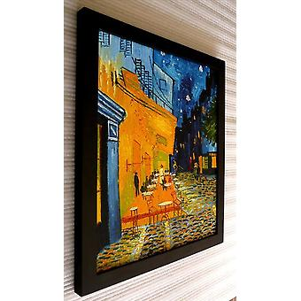 After Vincent van gogh, oil painting with black frame