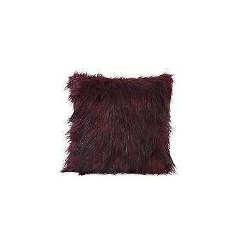 Light & Living Pillow 45x45cm Fluffy Burgundy