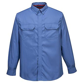 Portwest - Biz Flamme Plus Flamme widerstehen Sicherheit Workwear Shirt
