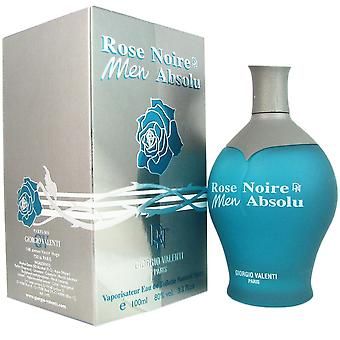 Rose noire absolue for men by giorgio valenti 3.4 oz eau de toilette spray