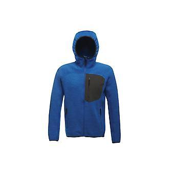 Regatta x-pro men's coldspring stretch hybrid hooded fleece jacket trf586