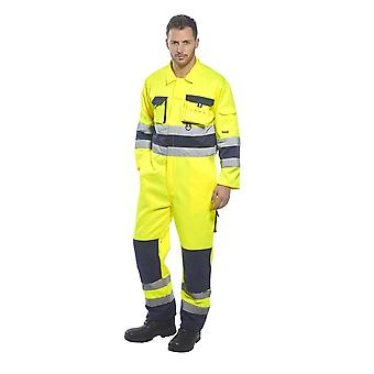 Portwest workwear nantes hi-vis coverall tx55