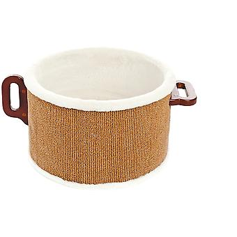 Ferribiella Soft Scatching Pan  (Cats , Toys , Scratching Posts)