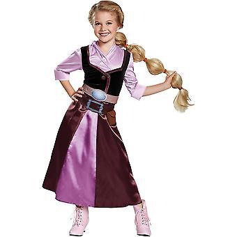 Klassische Rapunzel Kinderkostüm
