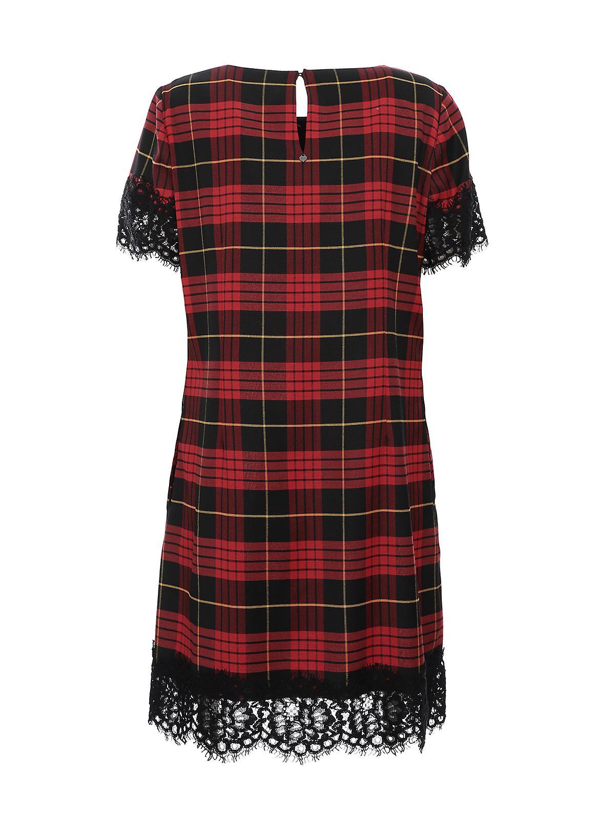 Twin-set 192tp262103981 Women-apos;s Robe de laine rouge CuCe3e