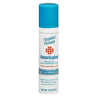Americaine benzocaine topical anesthetic spray, 2 oz