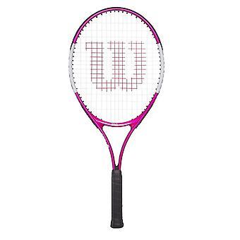 威尔逊 少年儿童 女孩 网球 拍球拍超粉红色
