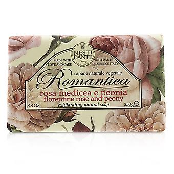 Romantização de sabão natural rosa e peônia 208661 250g/8.8oz
