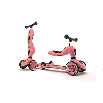 scoot and ride highwaykick 1 2in1 scooter peach ages 1-5 years