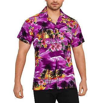 Club cubana men's regular fit classic short sleeve casual shirt ccc6